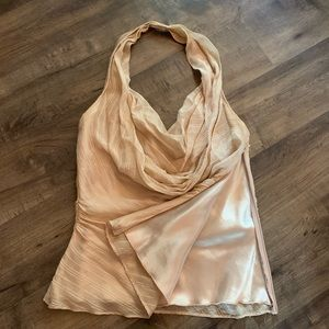 Laundry over the neck top. Backless XS